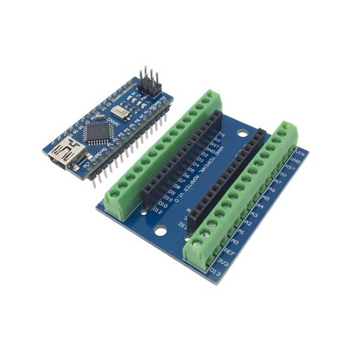 Arduino NANO terminal adapter shield 02