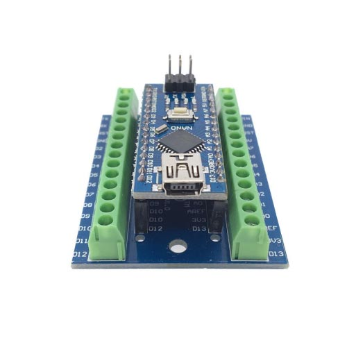 Arduino NANO terminal adapter shield 03