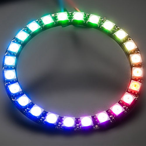 LED RGB ring color