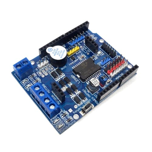Arduino UNO Dual Channel DC Motor Driver Shield 02
