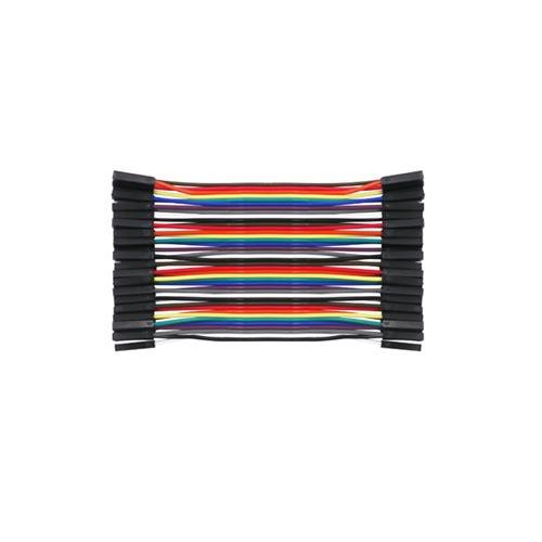 Kabel flat 10cm F F