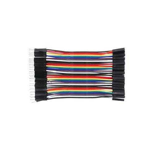 Kabel flat 10cm M F