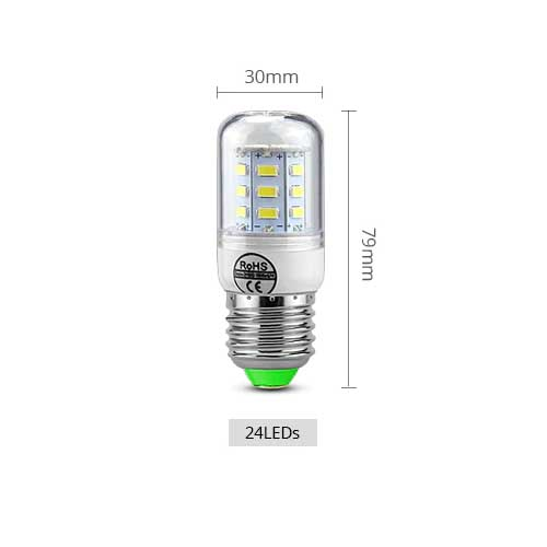 LED žarnica E14 24LED 02