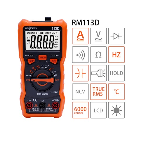 Multimeter digitalni RM113D 03