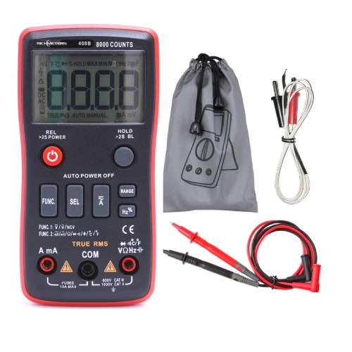 Multimeter digitalni RM408B 01