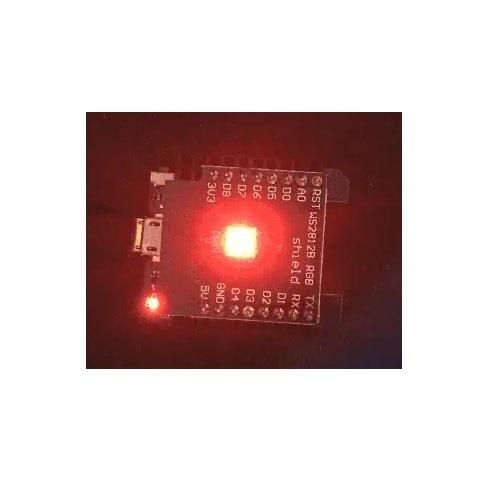 ESP32 D1 mini razširitev 5050 RGB WS2812 LED 02