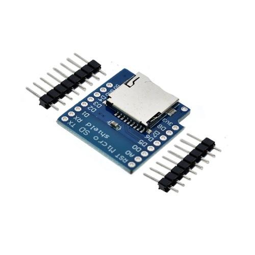 ESP32 D1 mini razširitev - microSD 01