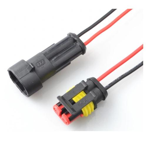 Konektor avtomobilski 2 pina 01