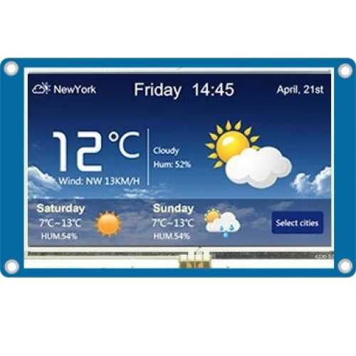 LCD Nextion 3.2inch TFT 400X240 01