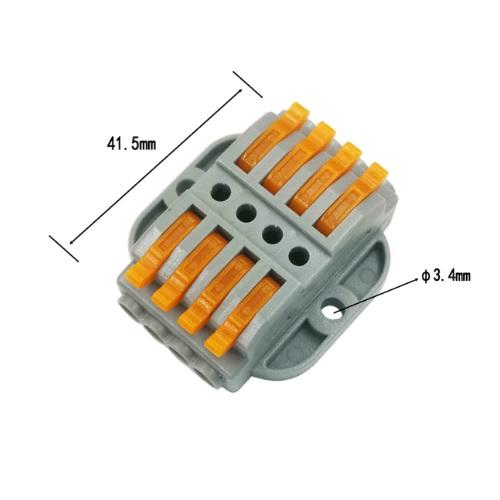 WAGO konektor hitri 2x4