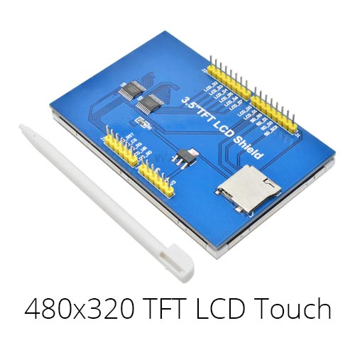 Arduino UNO LCD 480x320 TFT touch shield 03