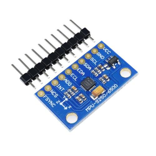 Arduino modul žiroskop in merilec pospeška MPU-6500 01