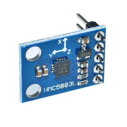 Arduino modul kompas HMC5883L 01