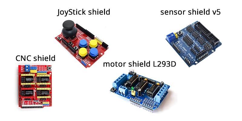 Arduino shields (razširitve)