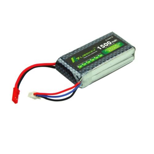 Baterija LIPO 2S 1500mAh 7.4V 25C 01