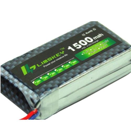 Baterije LIPO 2S 1500mAh 7.4V 25C 02