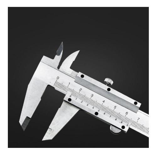 Kljunasto merilo kovinsko 150mm 02