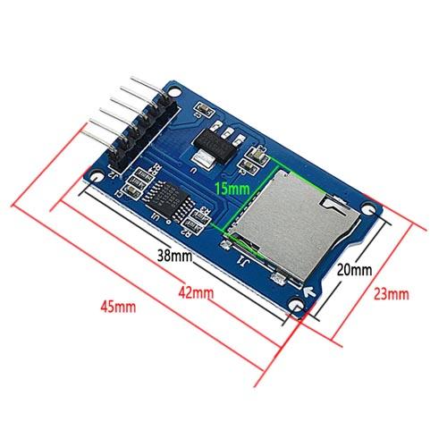 Modul micro SD kartica 02