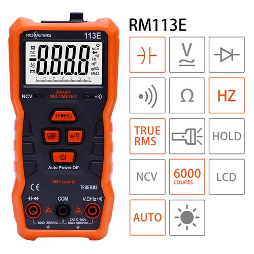 Multimeter instrument digitalni RM113E 01