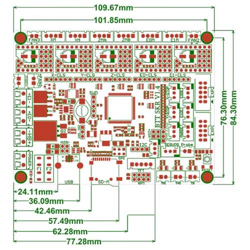 Smoothieboard SKR v1.4 32bit 04