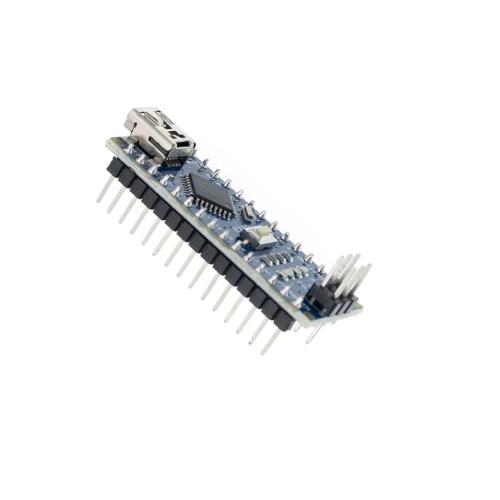 Arduino NANO ATmega328 miniUSB moder zalotani pini