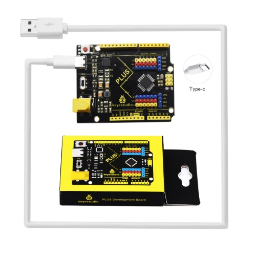 Arduino UNO Keyestudio Type-C s kablom 02