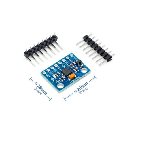 Arduino modul žiroskop GY521 02