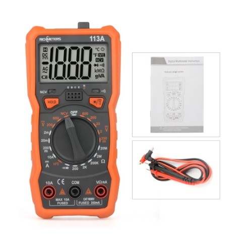 Multimeter instrument digitalni RM113A 03