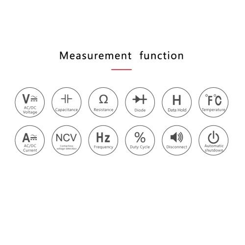 Multimeter instrument digitalni RM409B 03