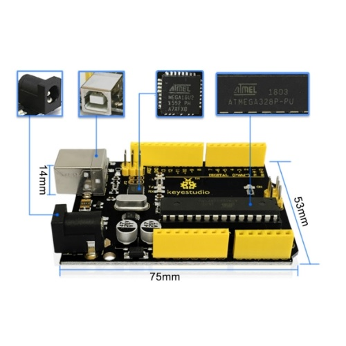 Arduino UNO Keyestudio 03
