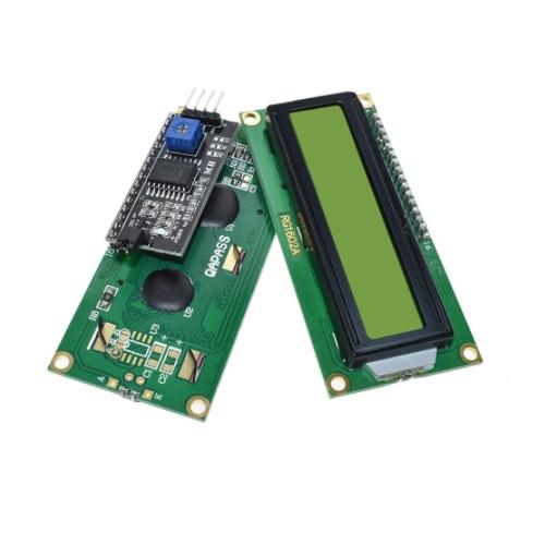 LCD 1602 zeleno ozadje + I2C vmesnik