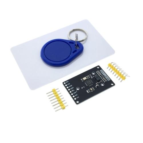 RFID čitalec, kartica in ključek v2