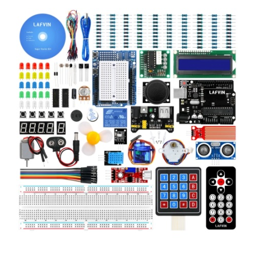 Arduino KOMPLET LEFVIN Super learning KIT 2