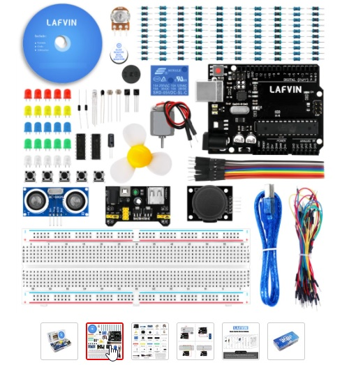 Arduino KOMPLET mini KIT 02
