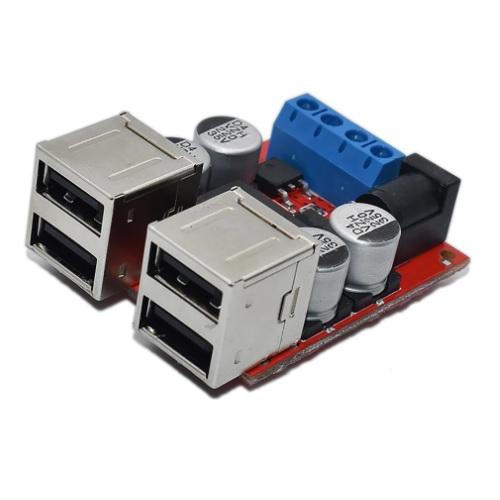 DC-DC StepDown na 4x USB
