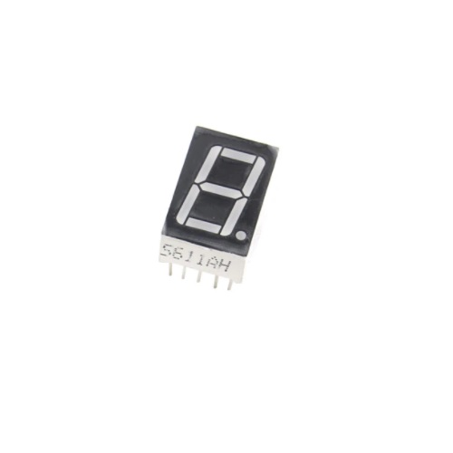 LED 1x 7seg display 0,28