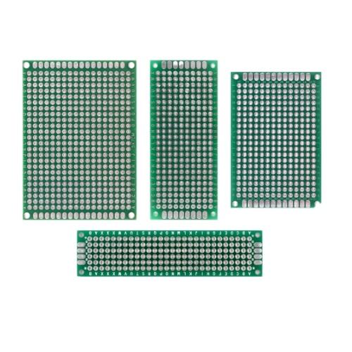 PCB plošča 4 x 6 cm univerzalna dvostranska