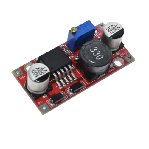 Usmernik LM2596 DC-DC potenciometer v2