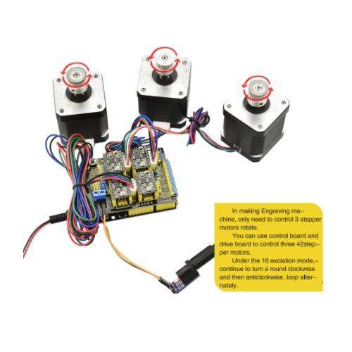 Arduino UNO CNC shield Keyestudio