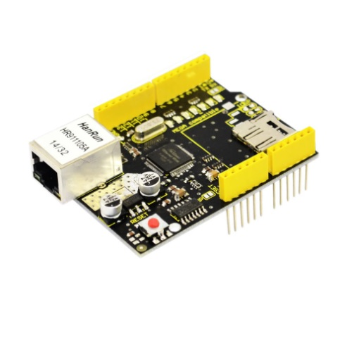 Arduino UNO Ethernet shied w5100 Keyestudio