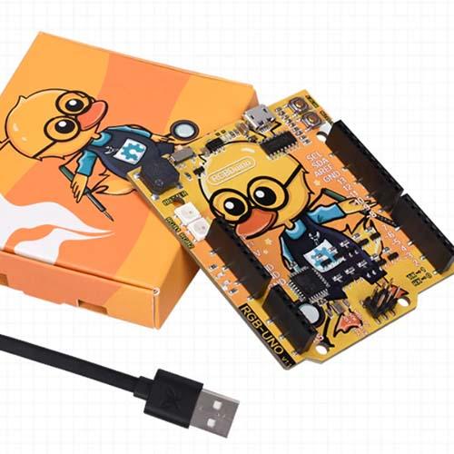 Arduino UNO microUSB RGBDuino Duck