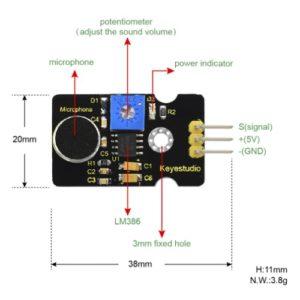 Modul detektor zvoka Keyestudio