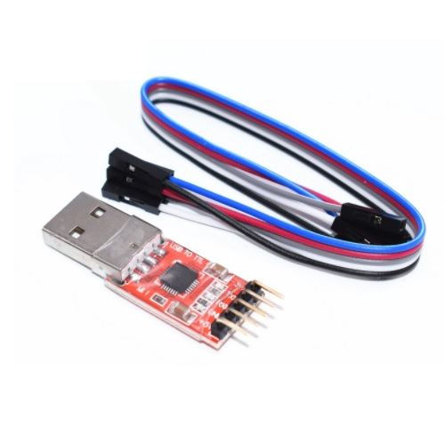 USB TTL to serial adapter CP2102
