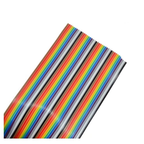 kabel 40pinski flat barvni