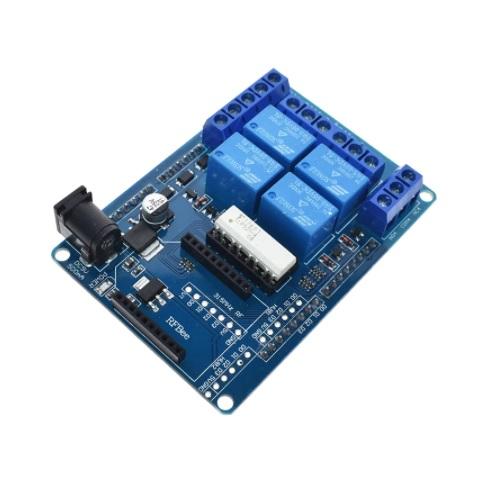 Arduino UNO relejni shield v2