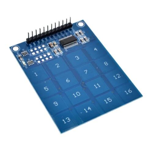 Modul kapacitivna tipkovnica 16 tipk TTP229