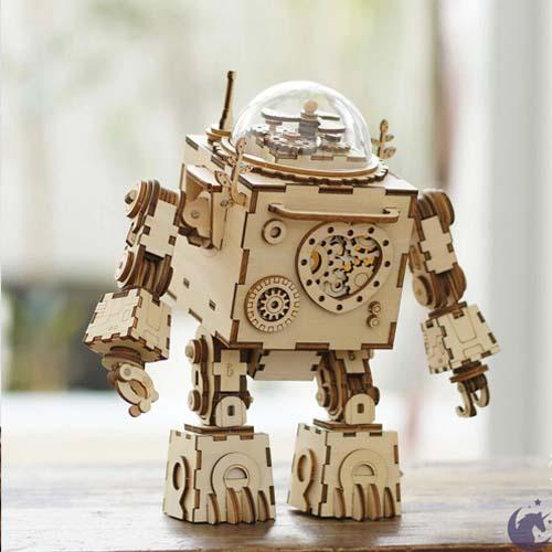 Robot Orpheus DIY Music Box 6