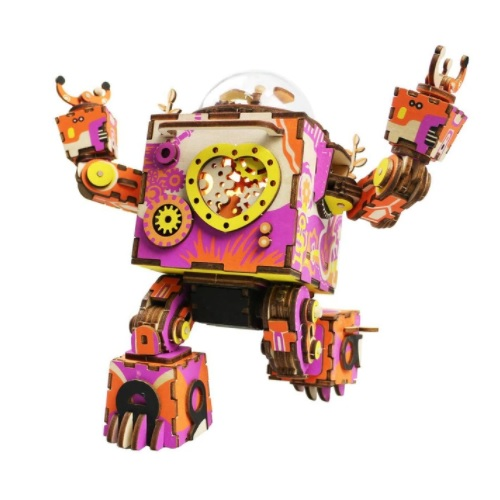 Robot Orpheus DIY Music Box BARVNI