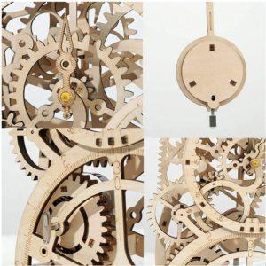Robotime Pendulum mehanska ura 03